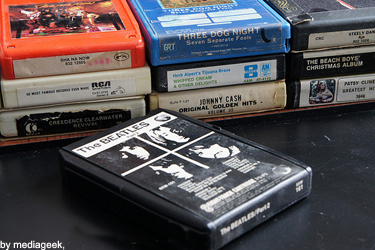 The Beatles Part 2 8-track