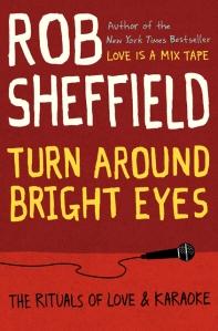 """22book """"Turn Around Bright Eyes"""" by Rob Sheffiield."""